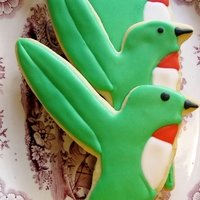 Hummingbird Cookies