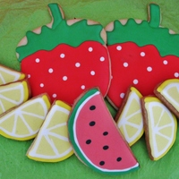 Fruit Platter Cookies