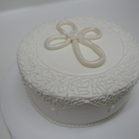 First Communion Cake   Inspired by the beautiful cakes submitted by other CCers. Thanks!