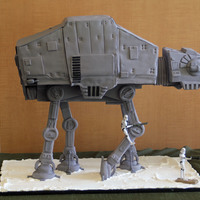 At-At Walker Groom's Cake