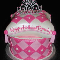 Pink Princess Pillow Cake   This cake was inspired by many other pillow cakes on CC. Thanks for the great ideas everyone. TFL!