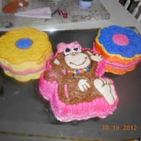 Monkeys Cake butterccream