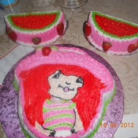 Strawberryshortcake butterccream