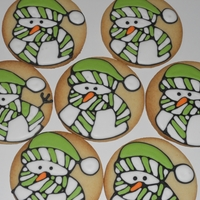 Snowman Cookie Snowman cookie inspired by the blog Sweetopia!