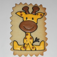 Baby Shower Cookies   Baby teddy bears, giraffes, and babies playing peek-a-boo!