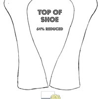 Part 1 Of Platform Shoe Template I used this template to make a Louboutin Platform shoe. Originally used a size 10 shoe to make the template and reduced the image size at...