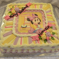 12X12 Minnie Mouse Cake   AppleMark