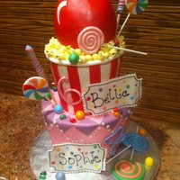 Carnival Cake Inspierd by Andrea's SweetCakes' I lover her work