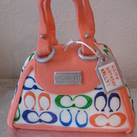 Coach Purse Cake WASC cake covered in MMF.