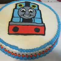 Thomas The Train Thomas the Train frozen buttercream transfer.