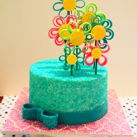 Quilling Flowers 100% inspiration from King-Girlz's cake at http://cakecentral.com/gallery/2071104 I loved this cake from the moment I saw it so I knew...