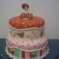Strawberry Shortcake thanks cc for all the inspiration! forgot my camera, so the picture is poor quality :/