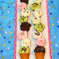 "Cupcake ""ice-Cream Cones"" I saw this idea on a blog (can't remember the name) and thought it was such a cute, clever idea..and easy!!"