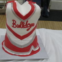 Cheerleaders Made this torso and cheerleader outfit for my nieces... it was quite tall!