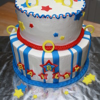 Bai's Bday Cake  My friend sent me a cake pic that she found online. Not sure if she found it on CC, but if so--thanks for the idea! Sonic figurines were...