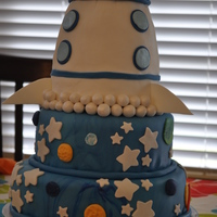 Jonah's 3Rd Birthday Cake My shot at a rocket ship cake I saw on CC....mine does not do her's justice, but I had fun with it!