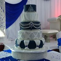 Five Tier Wedding Cake   Five tier wedding cake