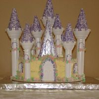 Castle Cake Learned a lot from doing this cake. What a crumb coat is, why you should use clear vanilla, and start early to allow for unforeseen...