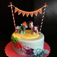 Made For A 5 Year Old My Little Pony Fan Girl Featuring Rainbow Dash And Rarity made for a 5 year old My Little Pony fan girl. featuring Rainbow Dash and Rarity :)