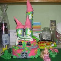 Castle Cake  This is a castle cake I made for my niece. I got lots of inspiration from this site. Thanks for being so talented and inspiring! First time...
