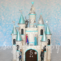 Frozen Castle Cake I Want To Give A Shout Out To Shawna Mcgreevy Of Mcgreevy Cakes For The Tutorial On Youtube She Is A True Artist I Frozen castle cake. I want to give a shout out to Shawna McGreevy of McGreevy Cakes for the tutorial on YouTube. ( ) She is a true artist!...