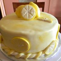 Made This Lemon Cake For Applesbees They Were Having A Alexs Lemon Ade Fund Raiser This Is A Lemon Cake With Lemon Butter Cream And Cove Made this lemon cake for Applesbee's They were having a Alex's Lemon Ade fund raiser. This is a Lemon cake with lemon butter...
