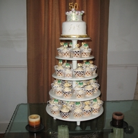 50Th Wedding Cupcake Tower