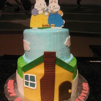 Max & Ruby Cake My daughter requested this cake, and I got inspiration from CC members...thanks! TFL!