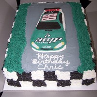 Dale Jr Birthday Cake