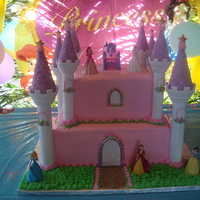 Princess Cake   almendra cake and buttercream