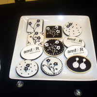 Amfar Black & White Cookies amfAR black & white fundraiser at Bloomingdales.