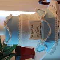 Boys First Communion Cake Mom googled picture of this cake and asked me to make it.
