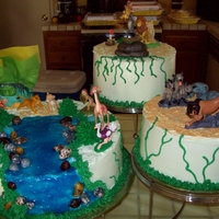 Lion King B-Day Cakes