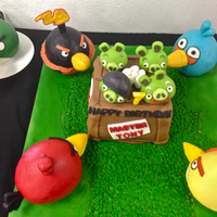 Angry Birds Cake AppleMark