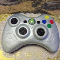 Birthday X Box Controller I made this cake for a coworkers 13 yr old's birthday. He loved it. Choc cake frosted with choc fudge BC and covered with MMF and...