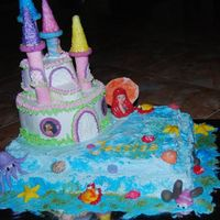 Ariel Castle This cake was made for my daughter Jessica on her 7th birthday.