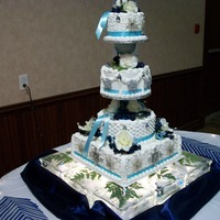 Nephew Winter Wedding Cake Theme,dec 7Th,2013