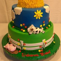 Barnyard Theme Baby Shower
