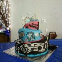 Footloose footloose cake for footloose festitive.