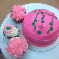 My 8 Year Old Daughter Cake & Cupcakes