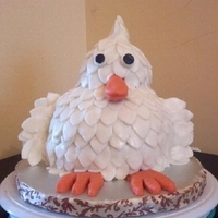 3D Animated Chicken Cake Customer showed me a 3D picture of a chicken cake from google. Upon further research I found out the original cake was inspired by CC...