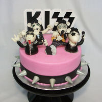 Mice Kiss Cake  Kiss mice made after searching for Kiss ideas for a cake and I found Kimberly chapman's cake she did and I fell in love with it! Mice...