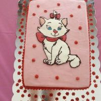 My First Butter Cream Transfer Aristocats My first butter cream transfer. Aristocats