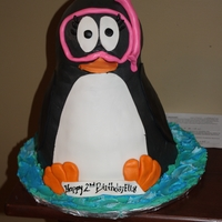 Penguin such a fun cake