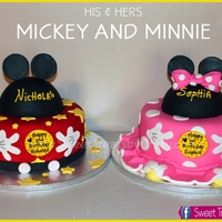 Mickey And Minnie His And Hers Mickey and Minnie his and hers