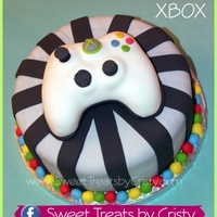 Xbox Xbox controller is made from rice crispy treats. :)