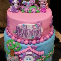 Littlest Pet Shop  Littlest Pet Shop theme. WASC with Vanilla BC. Decorations are fondant except the plastic pet shop animals. Definitely used some wonderful...