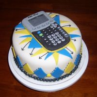 Ti-84 I made this cake for the man who taught my classes while I was on maternity leave.