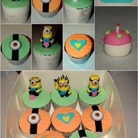 "Despicable Me ""minion"" Cupcakes"