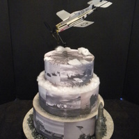 Ww2 Edible Image Cake In Black Amp White WW2 EDIBLE IMAGE CAKE IN BLACK & WHITE